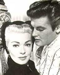 Roger Moore and Lana Turner