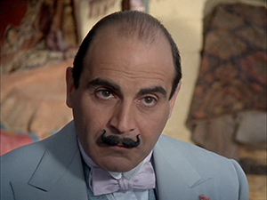 David Suchet as Hercule Poirot in Problem at Sea