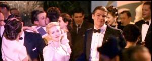 Scarlett Johansson as Kay Lake and Josh Hartnett as Bucky Bleichert