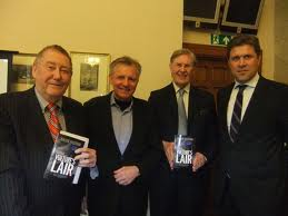 Hallur Hallson with Eurosceptic MP's
