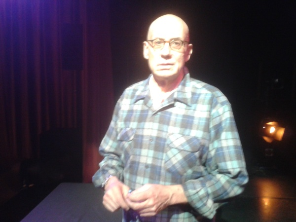 James Ellroy at the Dancehouse Thatre, Manchester