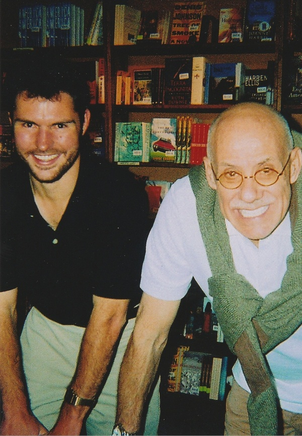 Jason first meeting with Ellroy in 2009