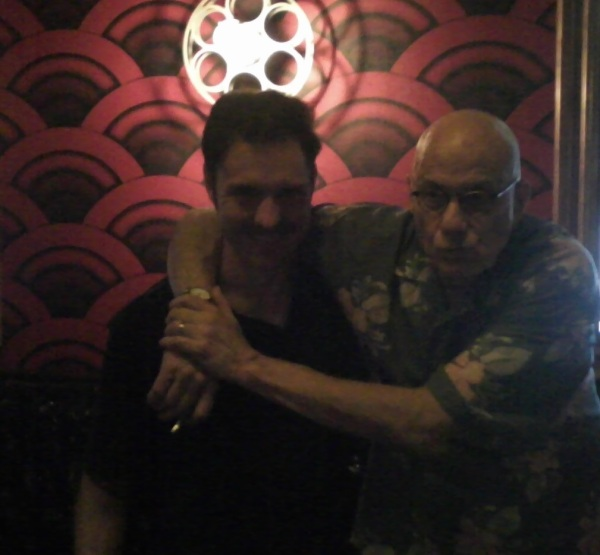 Jason and Ellroy in 2015