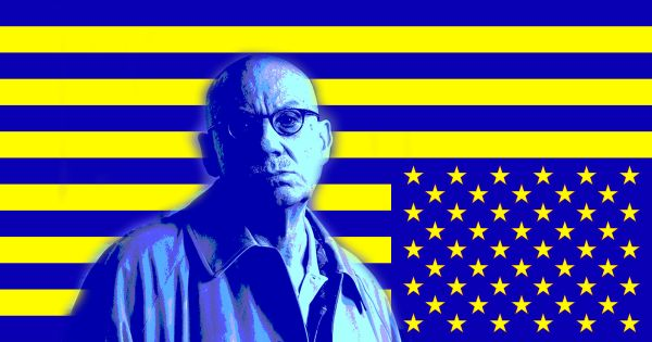 AAA black american flag ellroy poster