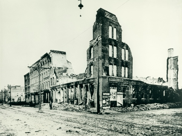 Third Ward fire 1892